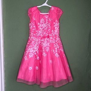 Jona Michelle Pink Floral Spring Dress Size 6